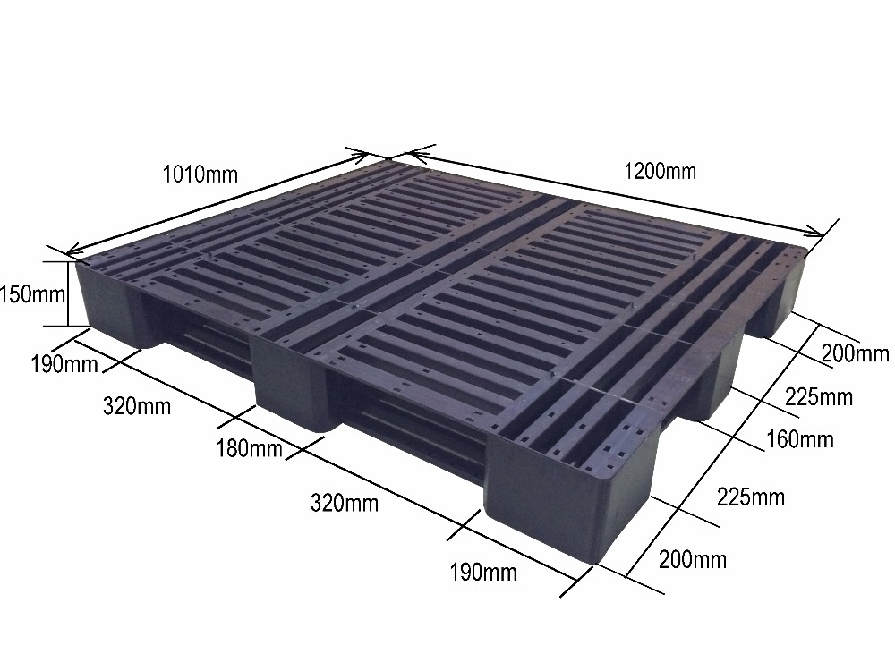 Heavy Duty Plastic Pallet for transport packaging