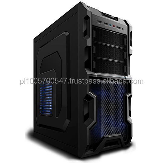 Computer Case, Midi Tower case, ATX case Computer Case gaming case AKY003BL popular PC case