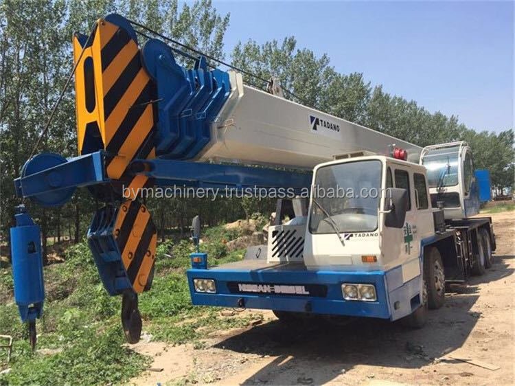 Used Hydraulic Tadano GT650E 65T Truck Mounted Crane, Good Condition Tadano 65T Mobile Crane