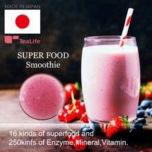 Low calorie natural chia seeds super food smoothie for Glad to woman , diet tea also available