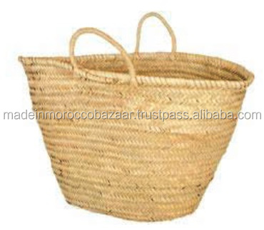 Pretty Handmade Market Straw Bag