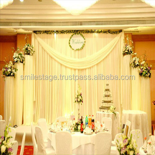Factory price mandap sale large event decor photo booth pipe and drape