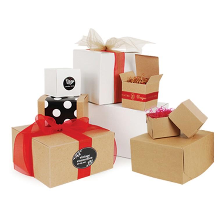 Caixas de papelão de presente personalizado de alta qualidade por atacado