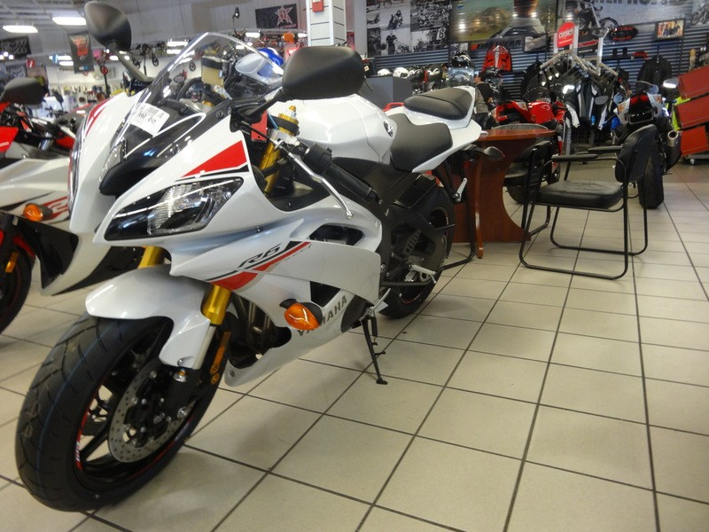 Free Shipping For Used Yamaha YZF-R6 Motorcycle