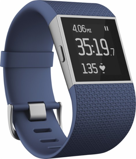 Fitbit surge heart rate monitor watch