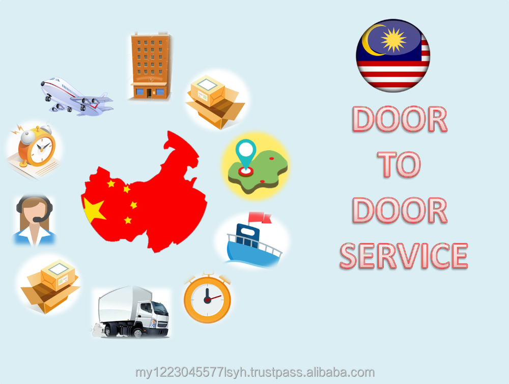 Delivery China to Malaysia Door to Door Express Small Parcel Import Export