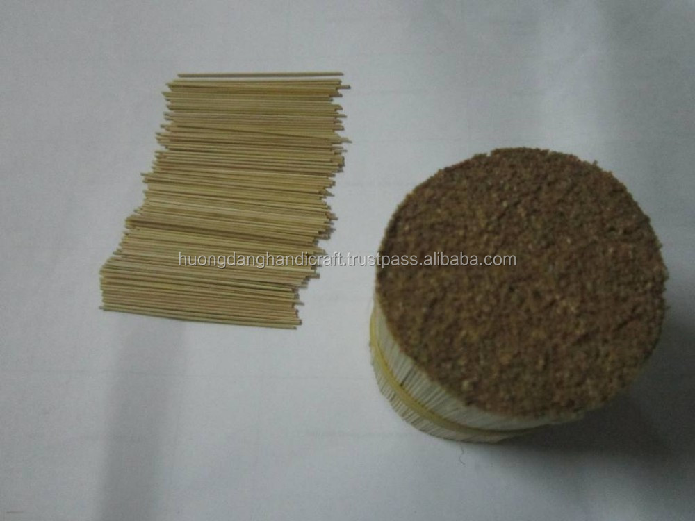 Bamboo toothpicks from natural material made in Vietnam
