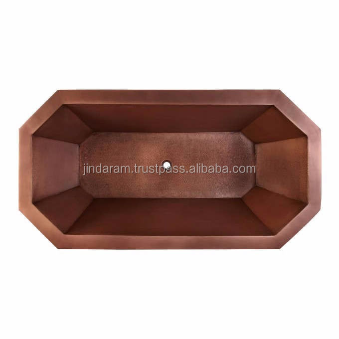Copper Bath Tub for Hotels