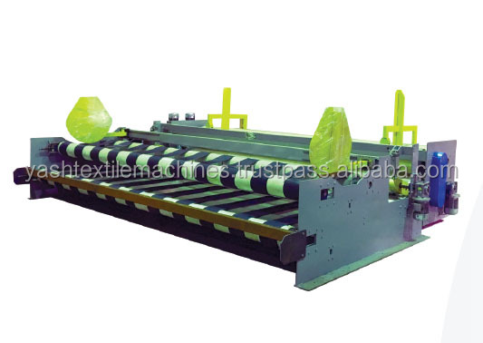 Fabric re rolling Machine with Full Forward run