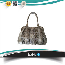 Exotic 100% Real Snake Skin Leather Ladies Handbag Formal