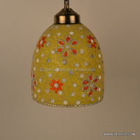 Hanging Ball Lamp Shades Love Bird Red and White Modern and Decorative Hanging Lamp