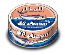Solid Canned Tuna with virgin olive oil