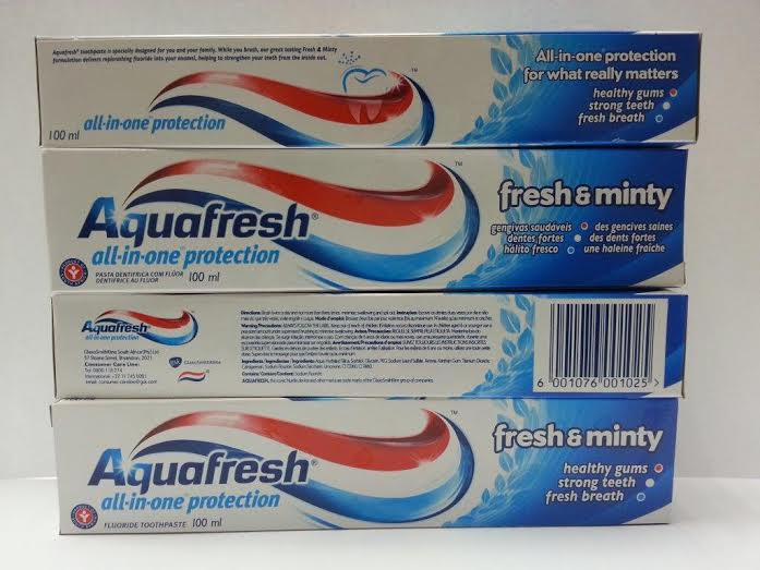 AQUAFRESH TOOTHPASTE 100ml - Fresh & Minty