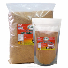 Private Label COCONUT GINGER POWDER Use as Cold Juice or Hot Tea 100% Natural, Sugar Free with Coconut Nectar