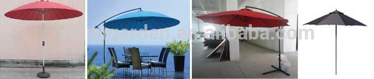 5m Big Square Large Outdoor Umbrella, Giant Umbrella, Outdoor Large Sun Umbrella