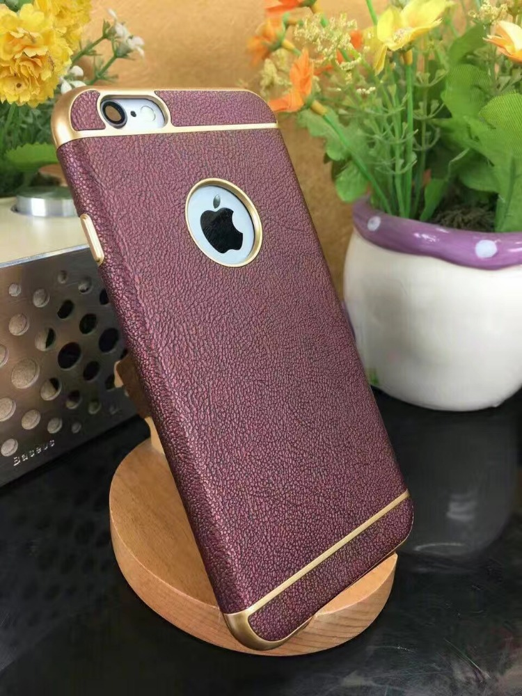 Luxury Electroplating Soft Bumper TPU Mobile Phone case for ip 6 case