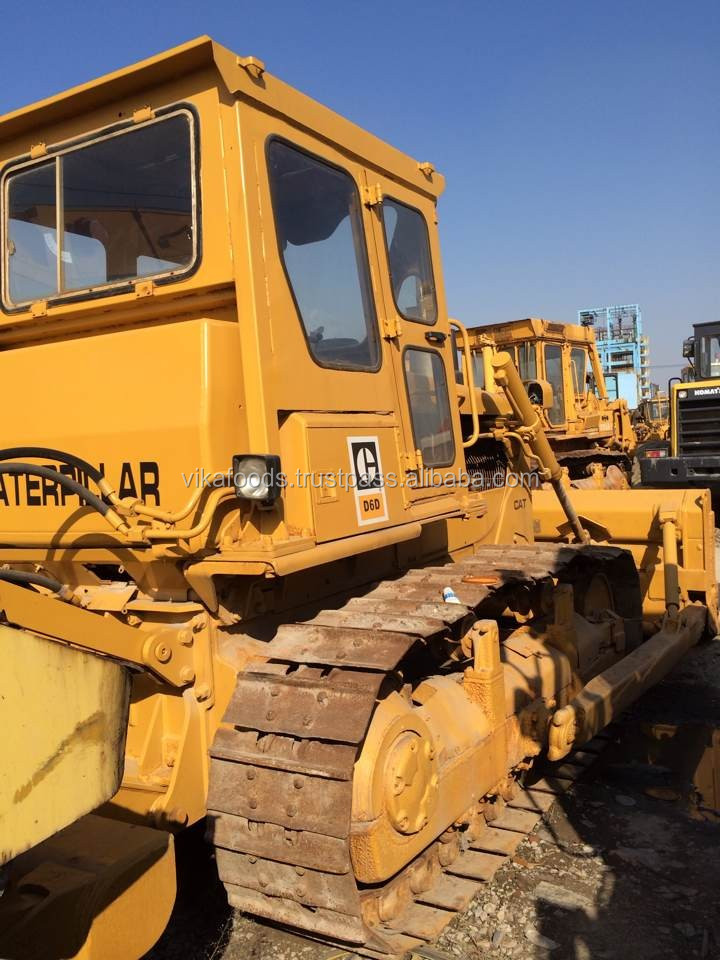 good price Japan d6d Cat used d6d mini dozer hot sale