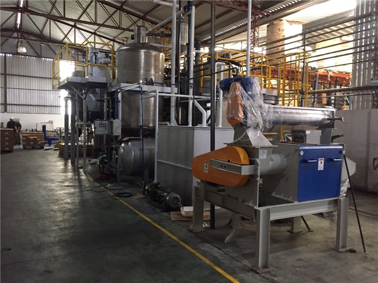 New Design 1-5ton\/day Mini Crude Palm Oil Refinery Plant With High ...