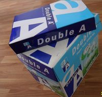 100% wooden pulp office Double A White A4 Copy Paper 80 gsm (210mm x 297mm) cheap price