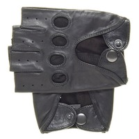 Cheap Half Finger Leather Driving Glove