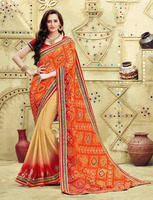 Partywear Saree With Blouse
