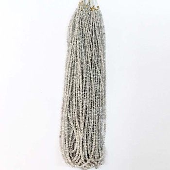 white diamond beads for sale,2-3mm rondelle faceted gemstone strand,natural diamond beads wholesale