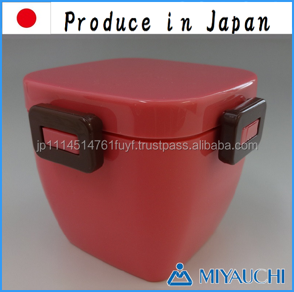 Microwave food container with 4 points lock Produce in Japan