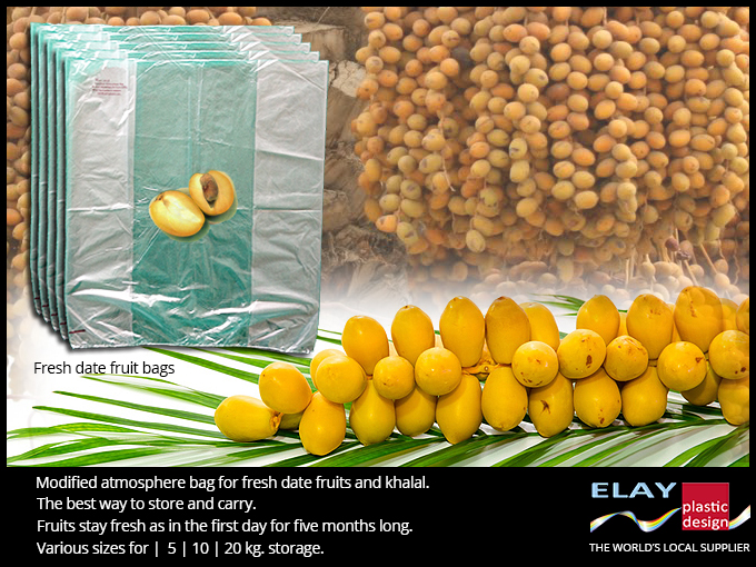 Fresh date fruit protection bag