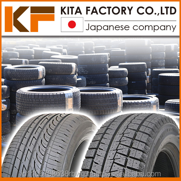 High quality Japanese brands used 205/55r16 tires in good condition