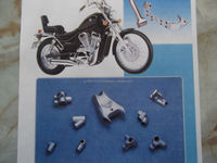 Various types of unique technology 200cc motorbike parts , special shape also possible