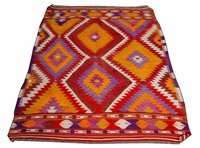 Bathroom Rug - Bedside Rug - Turkish Kilim Rug