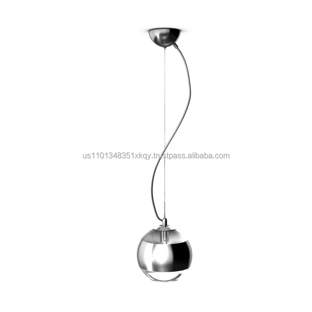 Indoor Pendant Light with Glass Globe