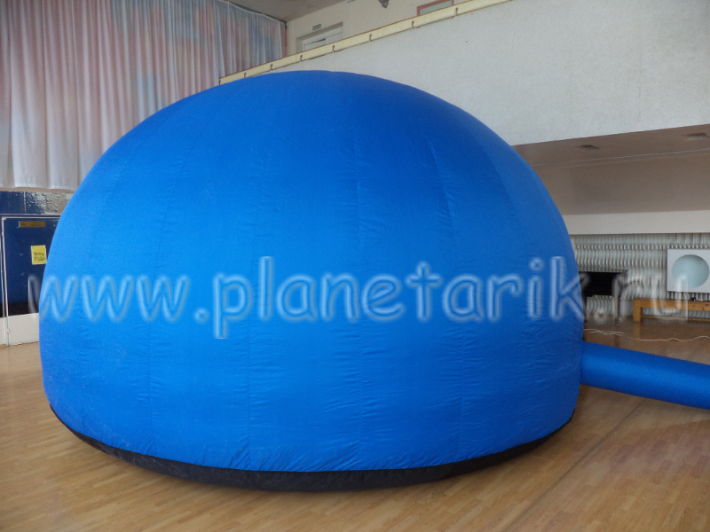 Mobile, portable and inflatable planetarium dome, inflatable planetarium tent