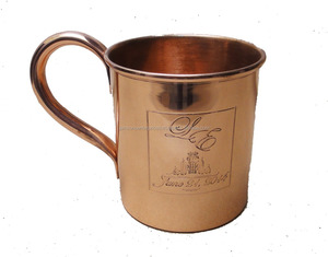 smirnoff vodka and ginger beer copper mugs