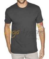Zegaapparel Men's slim fit T-shirt, Short sleeves, Crew neck 90% Cotton 10% Elastane
