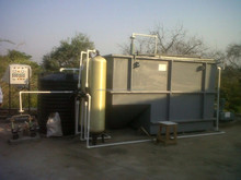 Small Sewage Water Treatment Equipment Plant for Hotels Hospitals / MBBR Technology Plant for Domestic Sewage Treatment