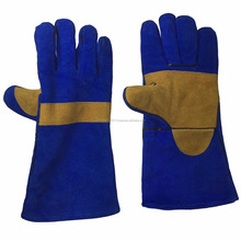 Kevlar Yellow Palm Welding Gloves