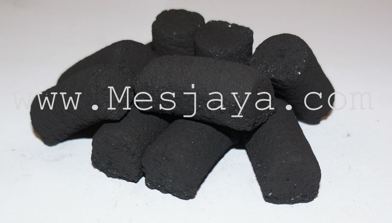Finger Coconut Briquette Charcoal