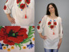 Embroidered shirt for women handmade
