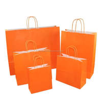 gift shopping kraft paper bags