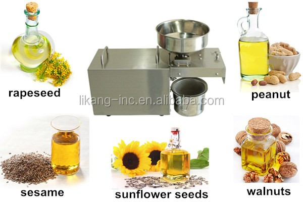 LK Z001 Home oil expeller/small cold press oil machine