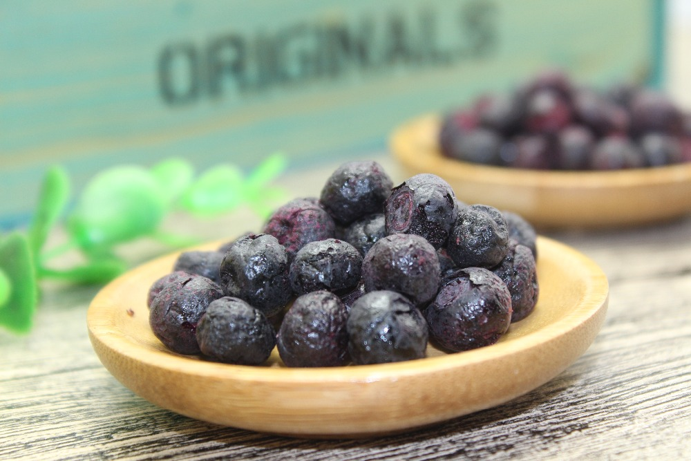 Freeze Dried Whole Blueberry, Large or Small