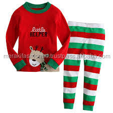 Alibaba Sports wear t-shirt Manufacturers in Ludhiana Rubber Print Moisture Absorption Kids pajama set.