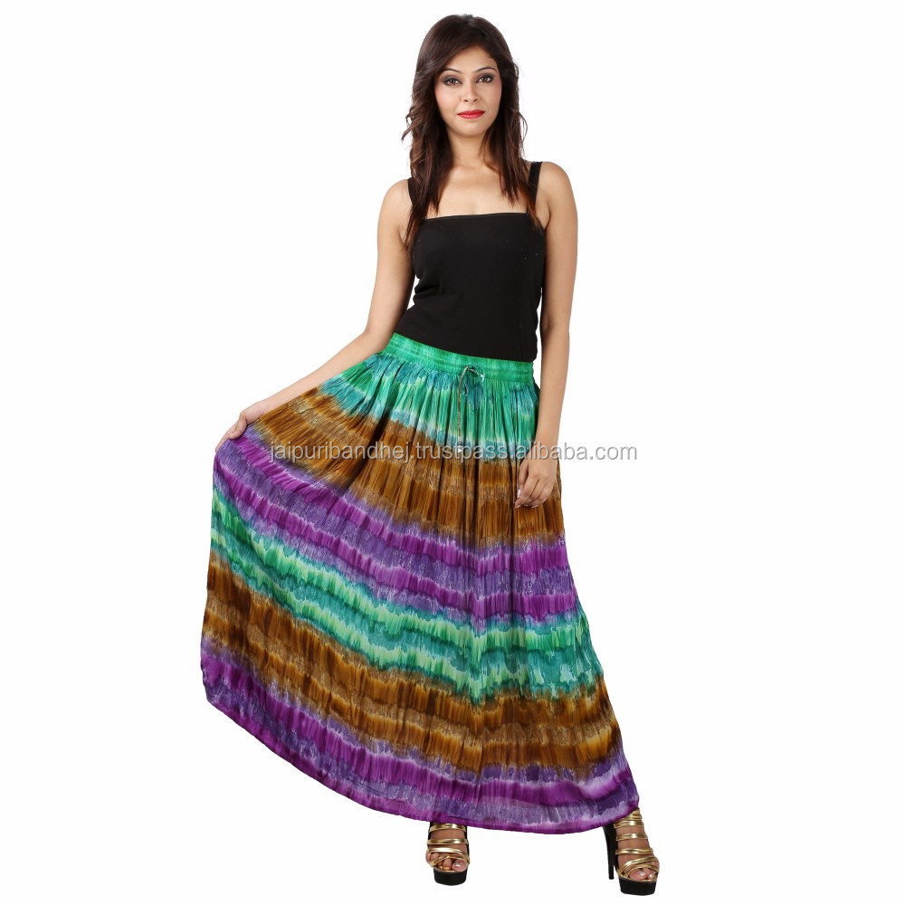 Rahasthani Beautiful Girls Multi Color Long Skirts