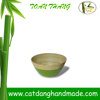 Vietnam various color coiled bamboo salad bowl ( Skype: hangleknn_1)