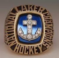 NATIONAL HOCKEY CHAMPIONSHIP RING