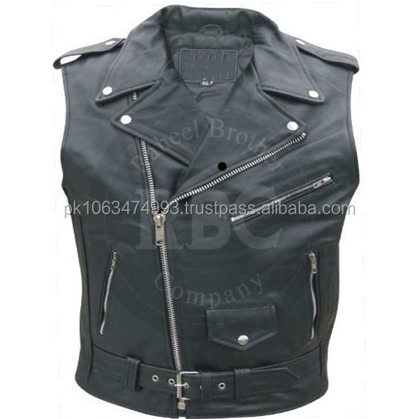 custom motorcycle vest
