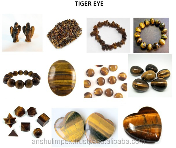Tiger Eye Crystal Healing Bands, Bracelets