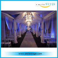Stage backdrop backdrop wedding muslin studio backgrounds/backdrop pipe and drape for wedding/ show/events