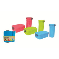 50pcs Eco Lunch Box with Mug (LD0024)